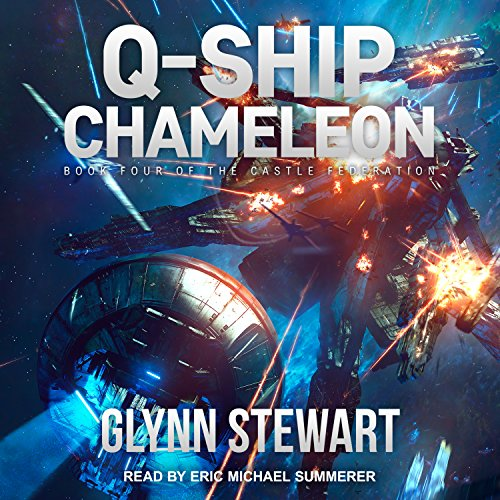 Q-Ship Chameleon audiobook cover art