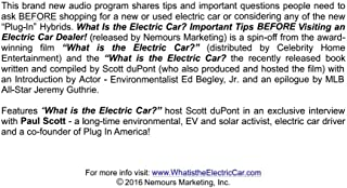 What is the Electric Car? Important Tips BEFORE Visiting an Electric Car Dealer