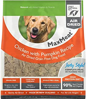 Only Natural Pet MaxMeat Holistic Grain-Free Air Dried Dry Dog Food - Made in New Zealand with Real Meat