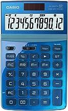 CASIO JW-200TW-BU 純正12桁電卓GTデュアルパワーJW200TWブルー/