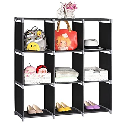 Multifunctional DIY 3 Tiers 9 Compartments Stor...