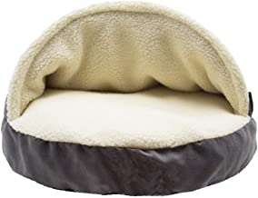 Cozy Cave Pet Bed in Me & My Super Soft Pet Bed - Available in Multiple Colors & Styles,Gray,large