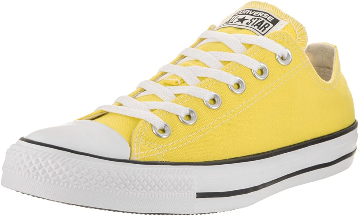 Converse Max 58% OFF Unisex Chuck Taylor All Star Manufacturer direct delivery Top Low Yellow Sneak Fresh