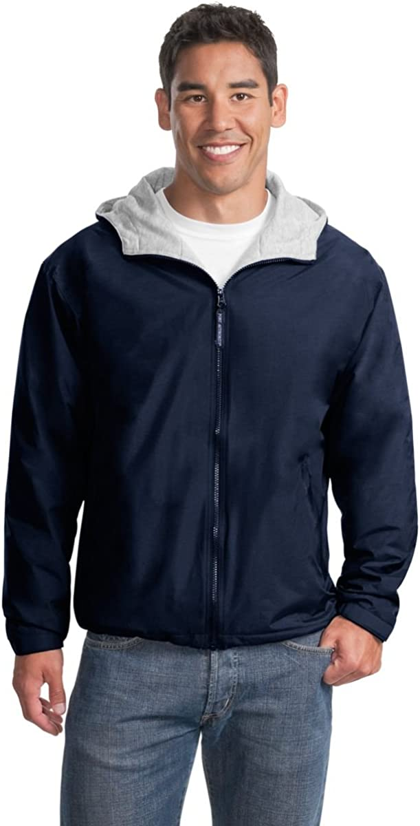 Port Max Popular overseas 83% OFF Authority Men's Team Jacket - Navy and Light Oxford Bright
