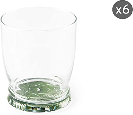 Excelsa Calavera Juego de 6 vasos de cristal