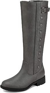 Best grey wide shaft boots Reviews