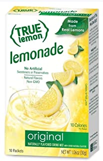 True Lemon Lemonade Stick Pack, 10 Count (1.06oz)