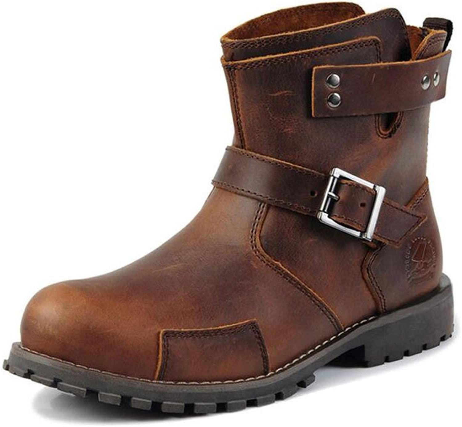 Lemontree Men Winter Leather Boots 232