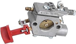 Fdit Segadora Carburador Accesorio Trimmer Carburador para Husqvarna 243R 243RJ 543RBK 543RBX 543RS 543AE