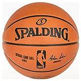 Spalding NBA Game Sz.7 (74-569Z) Balón de Baloncesto, Unisex Adulto, Naranja, 7