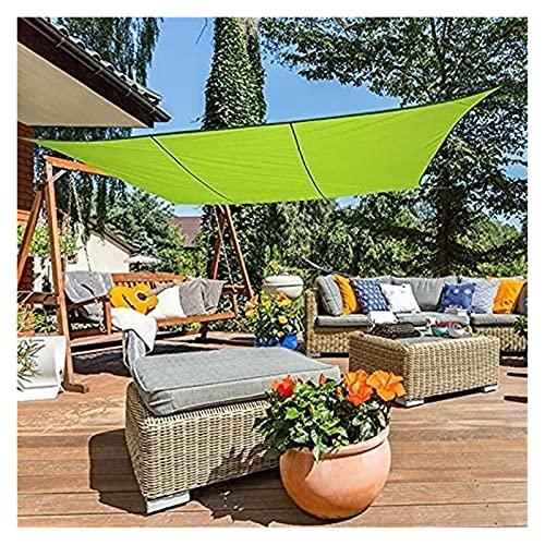 Gwendolyn pergole Tenda da Tenda da Sole per Giardino all'aperto Patio Party Party, Rettangolare Outdoor Shade Sail, Waterproof Shade Ploth Copertura Protettiva per Giardino Piscina Verde Tela