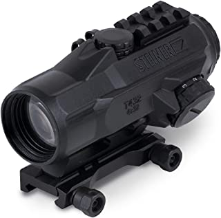 Steiner T-Sight Rifle Red Dot Sight with Rubber Armoring, Waterproof, Fogproof and Shockproof