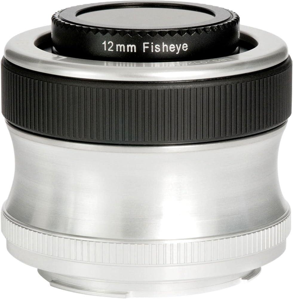 Lensbaby Lb 5c Scout Und Fisheye Optik Kamera