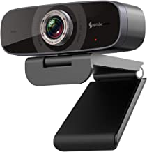 1080P Webcam with Microphone,Angetube Streaming HD Web Camera 100° Wide-Angle View Web Cam Compatible with Windows Android...