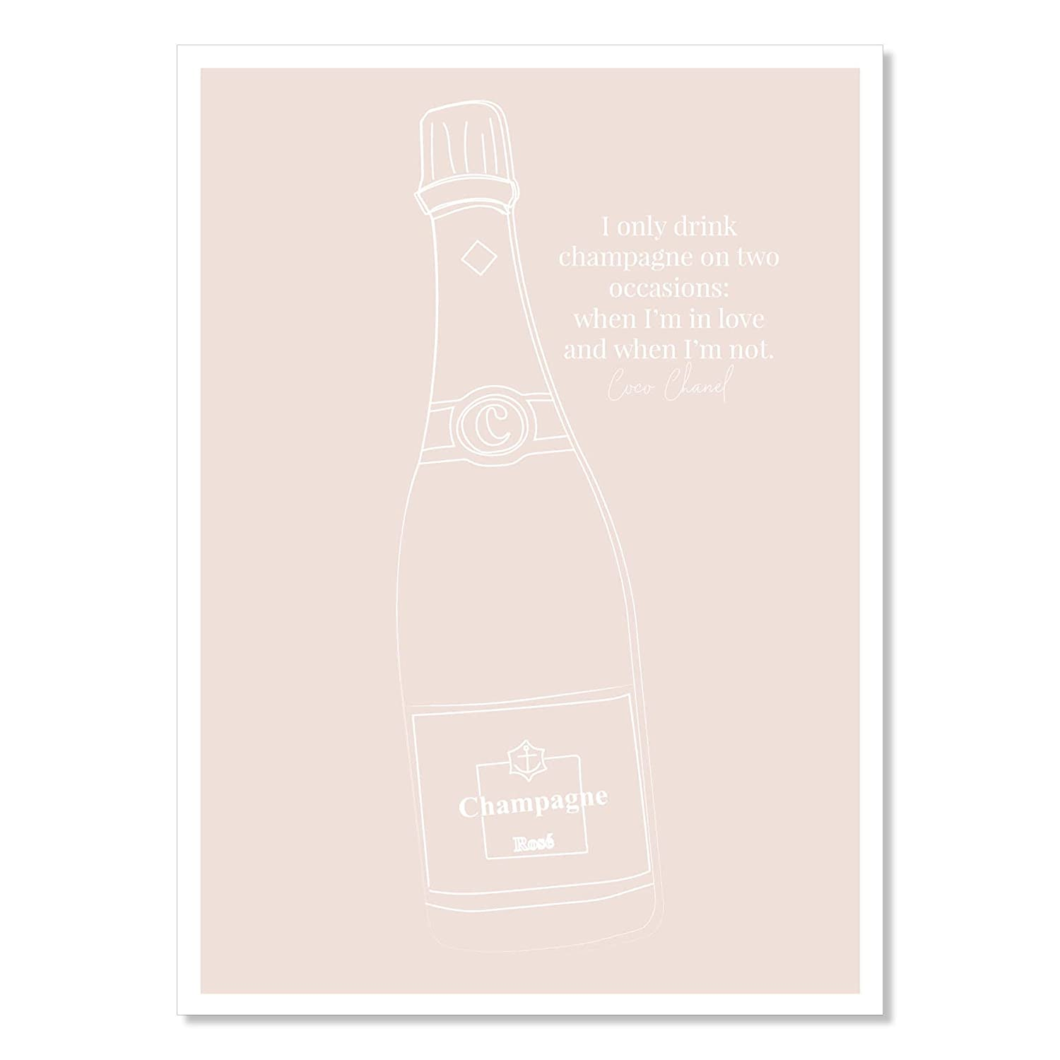 I only drink champagne Popular product on two occasions and Max 43% OFF whe when in I'm love