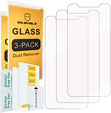 [3-Pack]-Mr.Shield for iPhone XR [Tempered Glass] Screen Protector with Lifetime Replacement
