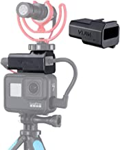 GP-3 Microphone Mount for GoPro Hero 7, 6, 5 and Housing for Mic Adapter, Works with Original GoPro Case with Universal Cold Shoe Adapter