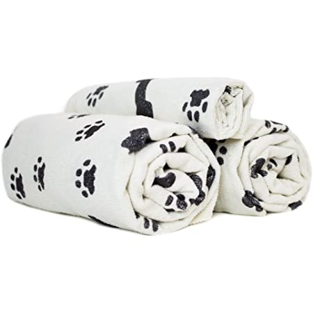"""Zwipes 779 Microfiber 5-Pack Small Pet Cloths (Size: 16"""" x 16""""), Soft Terry Drying Cleaning Towels"""