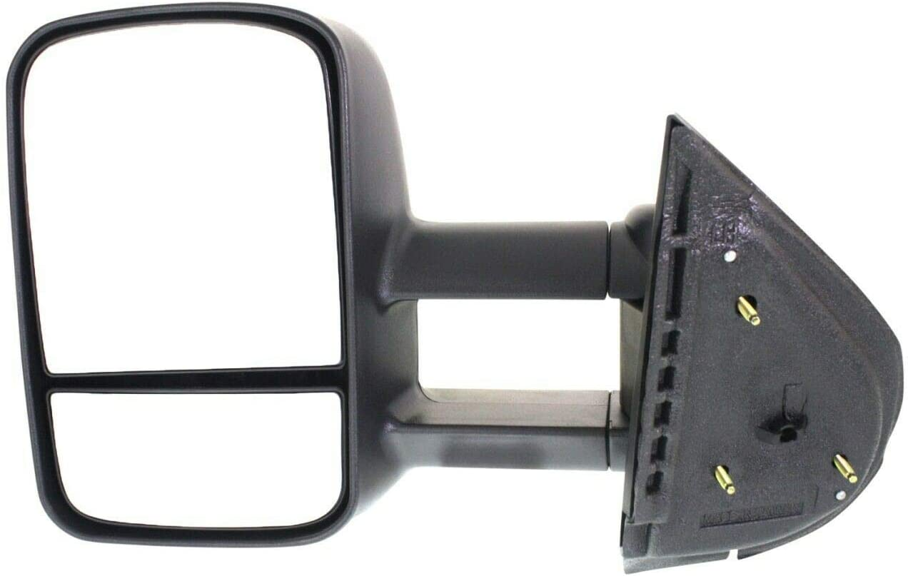 YHA 14511126 Black Manual Towing Side LH Mirror Driver Left Lowest price challenge Comp Sales