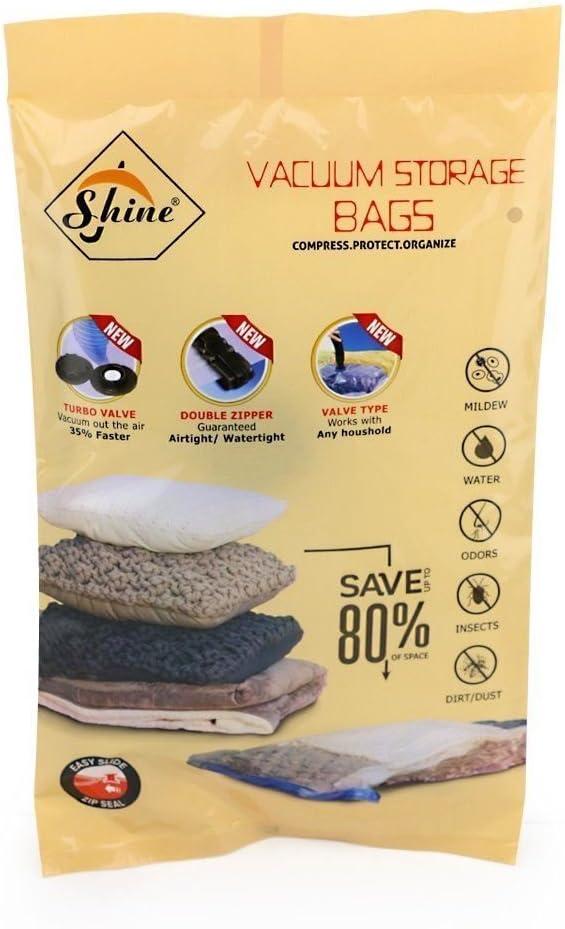 /elegir tama/ño y cantidad 50X70 10 /50/x 70/cm//80/x 100/cm//60/x 100/cm//90/x 120/cm/ Tama/ño mediano de viaje bolsas para almacenamiento al vac/ío para la ropa/