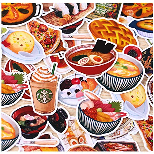 32pcs Creative Cute Self-Made Daily Food/Drink Scrapbooking Stickers/Decorative Sticker/DIY Craft Photo Albums/Trunk stickes