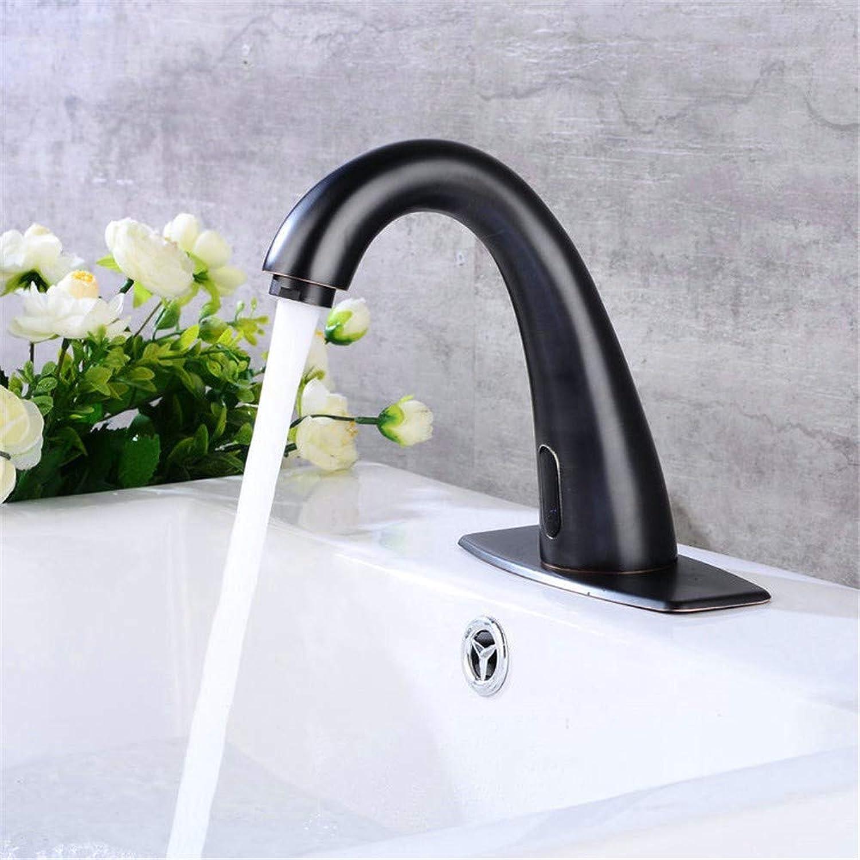 Pyty123-Faucet Wasserhahn Bad Waschbecken Waschtisch Schwarz Wasserhahn