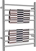 """Tangkula Towel Warmer, Plug-in Wall Mounted Stainless Steel Towel Heater for Home Bathroom, Electric Towel Warmer (24""""Wx 30""""H)"""