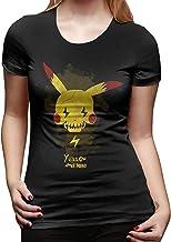 PvezTFi Geel Poke Squad Pikachu dames T-shirt met ...