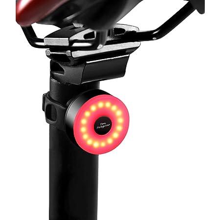 DON PEREGRINO M2 - 自転車 テールライト 防水 & usb充電式90時間も 五種の安定したフラッシュモードつけ