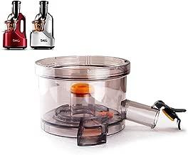 SKG Juicing Strainer Base for Wide Chute Slow Masticating Juicer 2088 (SKG Masticating Juicer, SKG Vertical Masticating Cold Press Slow Juicer)