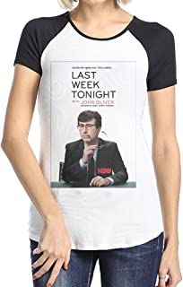 Haaas Women's John Oliver Short Sleeve T Shirt