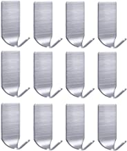 FOTYRIG Adhesive Hooks Wall Hooks Hangers 304 Stainless Steel Waterproof Stick on Hat Hooks Strong & Durable (Max Load up ...