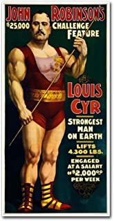 1898-Circus by Vintage Lavoie, 24x47-Inch Canvas Wall Art