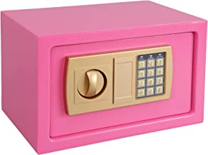 KYODOLED Digital Safe-Electronic Steel Safe with Keypad to the Wall, Medium Personal Security Locked Cabinet for Home Mone...