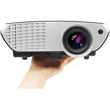 PLAY Full HD LED 3000 Lumens Home Theater Projector with 1 Year Warranty (Black/ Silver)