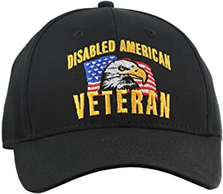Disabled American Veteran Hat for Men and Women, Military Collectible Caps