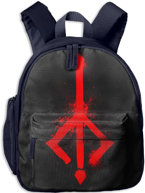 Pinta Norwegian Rune Cub Cool School Book Bag Backpacks for Girl's Boy's