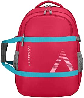 Jay Sons Unisex Aristocrat Zylo-1 36 L Polyester Casual Backpack (Red)