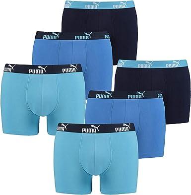 PUMA 6 Pack Boxer Boxershorts Men Pant Underwear Sporty Retro Pants