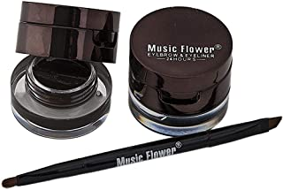 Music flower 2 in 1 Eye brow and Eyeliner