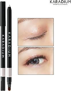 [KARADIUM] Wonderful Eyes Auto Gel Eyeliner 0.5g / Gel Liner & Sharpner & Blending Brush/Waterproof Long-Lasting - 8 Colors (#8 mystic white)