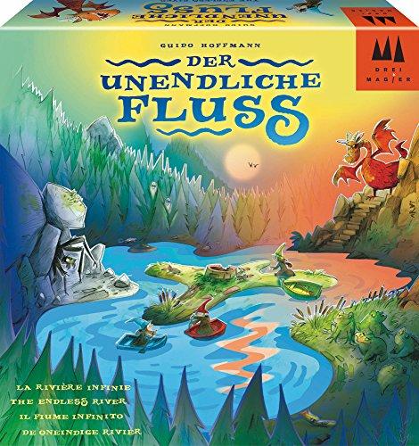 Schmidt Spiele Drei Magier Spiele 40872 Der unendliche Fluss, Kinderspiel