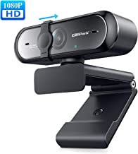 Webcam with Microphone 1080P, Campark Autofocus USB Webcams Streaming Computer Camera for Mac PC Laptop Video Calling Skype Conferencing Gaming Live with Privacy Shutter