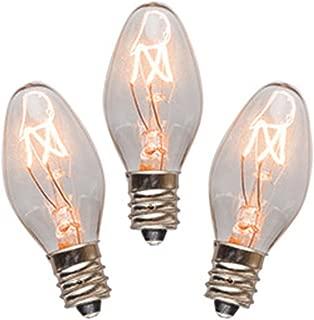 15 Watt Bulb (3-Pack) Replacement for Scentsy Plug-In Warmer, KE-15WLITE
