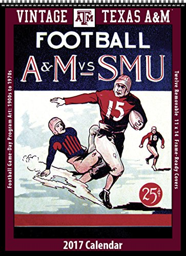 Texas A&M Aggies - 2017 Vintage Football Calendar