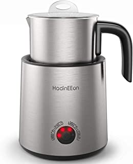 HadinEEon Variable Temperature Milk Frother, 13.5oz Electric Milk Frother, Dishwasher Safe Stainless Steel Milk & Chocolat...