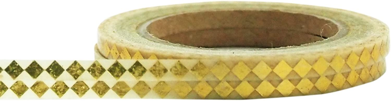 Little B 100402 Decorative Foil Paper Tape, Gold Harlequin B00KKV7OJO | Nicht so teuer