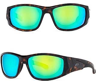 Bnus sunglasses for men women polarized corning glass lens sport wrap shades UV protection italy made