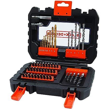 BLACK+DECKER A7234-XJ 27 Piece Drill Set Orange