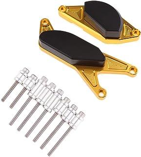 オートバイ エンジン ガード ステーター プロテクター カバー 側 保護 フレーム スライダー プロテクター 適用車種 鈴木 GSR750/Z 2015-2018 ゴールド
